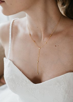 Luna & Stone Luna and Stone - Sequoia Gold Necklace