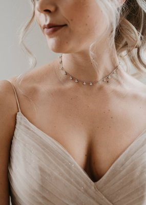 Luna & Stone Luna and Stone - Abilene Rose Gold  Choker