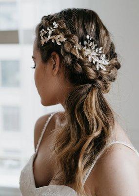 Luna & Stone Luna and Stone - Effie Gold Hair Comb Set