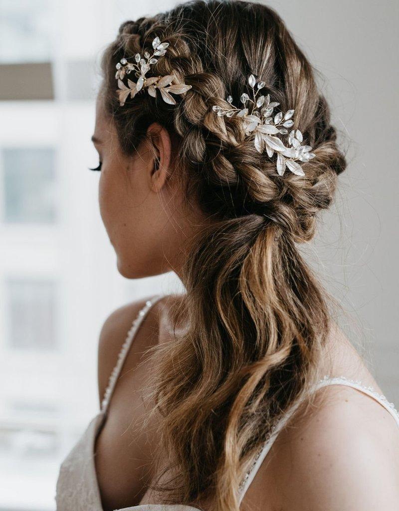 Luna & Stone Effie Gold Hair Comb Set