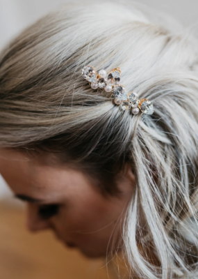 Luna & Stone Luna and Stone - Zara Gold Hair Comb