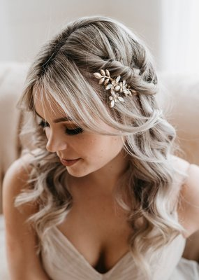 Luna & Stone Luna and Stone - Esme Gold Hair Comb