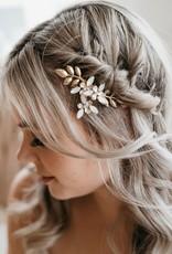 Luna & Stone Esme Gold Hair Comb