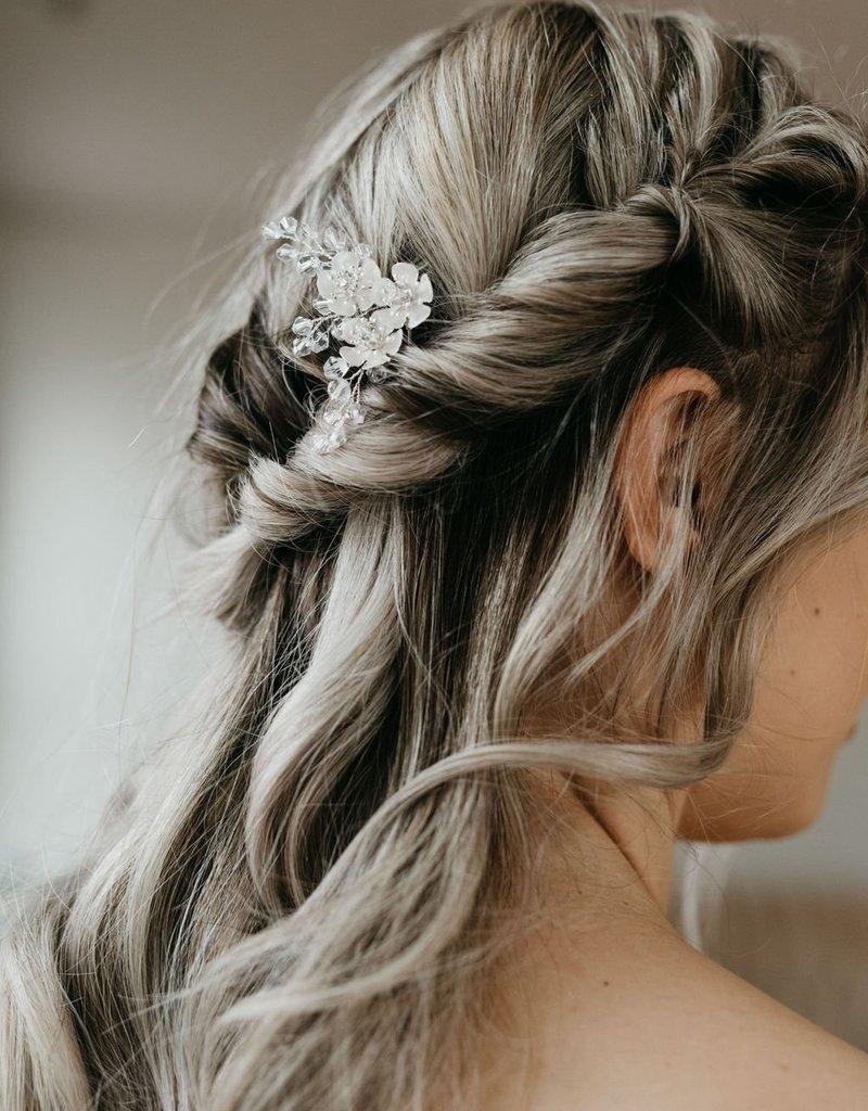 Luna & Stone Evie Silver Hair Pin