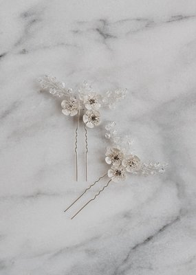Luna & Stone Luna and Stone - Evie Silver Hair Pin
