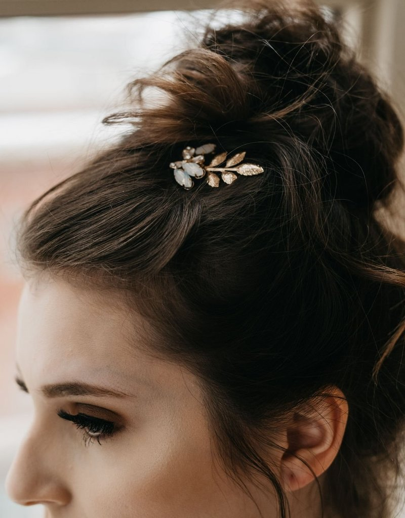 Luna & Stone Esme Gold Hair Pin