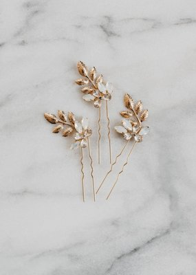 Luna & Stone Luna and Stone - Esme Gold Hair Pin