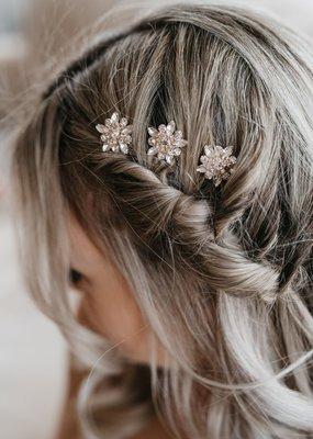 Luna & Stone Luna and Stone - Faye Rose Gold Hair Pin