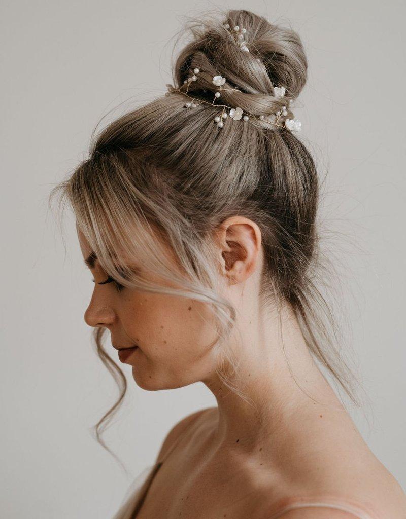 Luna & Stone Molly Hair Vine - Gold