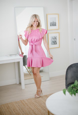 Keepsake Restore Mini Dress in Pink