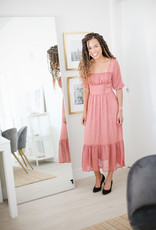 Foxiedox Brenna Midi Dress in Primrose