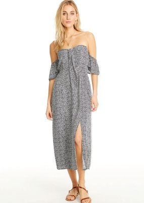 Saltwater Luxe Del Mar Off-the-Shoulder Midi Dress