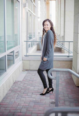 InWear Zenee Long Cardigan Dark Grey