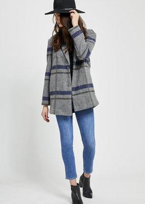 Gentle Fawn Gentle Fawn - Desmond Coat in Grey Plaid