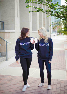 Brunette the Label BTL - Brunette Sweatshirt Navy