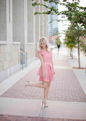 WISH Dream Chaser Lace Dress With Bow