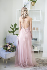 Luxxel Selena Tulle Maxi Dress