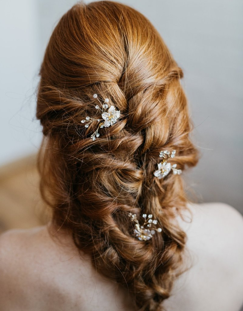 Luna & Stone Zinnia Hair Comb