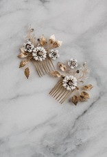 Luna & Stone Adele Hair Comb Set of 2