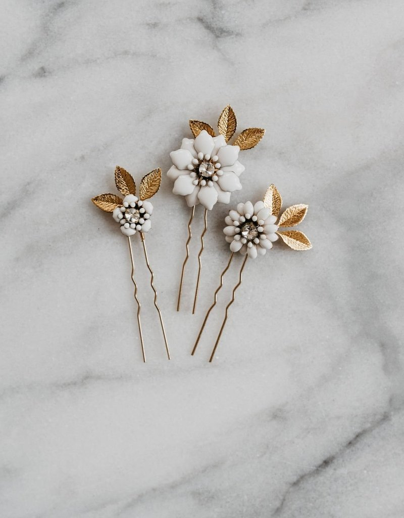 Luna & Stone Adele Hair Pin Set of 3