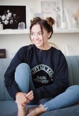 Brunette the Label Uplifting Babes Sweatshirt Navy