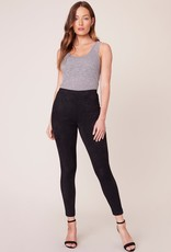 BB Dakota Zero to a Hundred Faux Suede Legging - Black