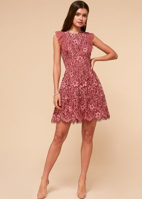 Adelyn Rae Alisa Fit & Flare Dress