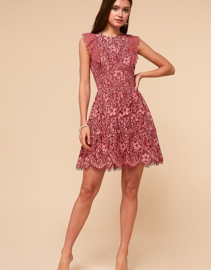 Adelyn Rae Alisa Fit & Flare Dress