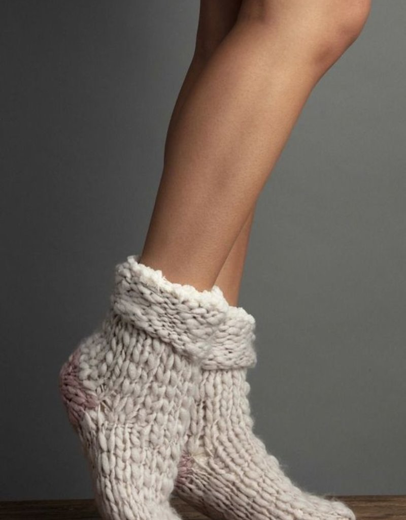Lemon Winter's Tale Knitted Bootie