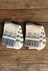 Lemon Mismatched Ski Socks