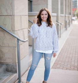 ICHI Willow Knit Sweater