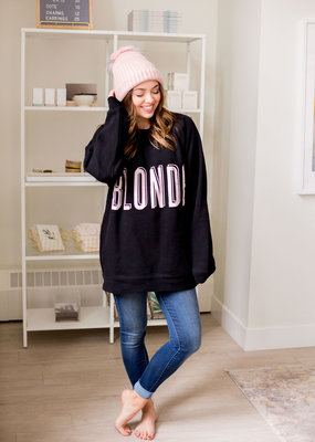 Brunette the Label BTL - Blonde Shadow Big Sister Sweatshirt