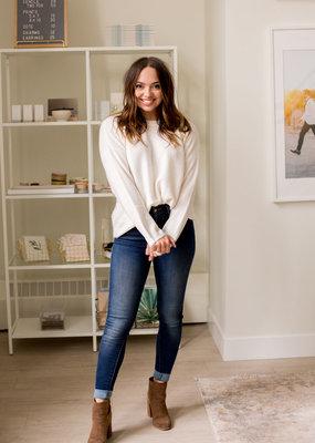 Des Petits Hauts Des Petits Hauts - Amalia Sweater in Cream