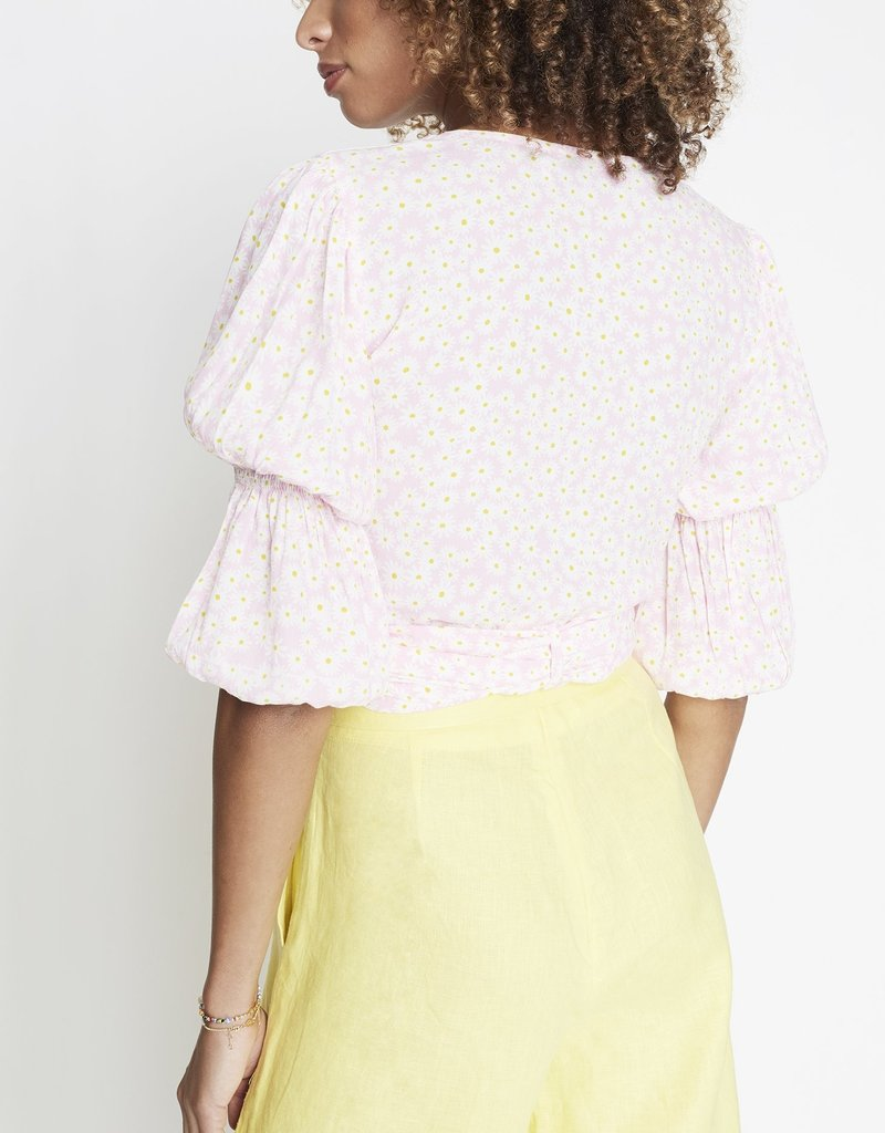 Faithfull Bisset Top in Dusty Floral Print