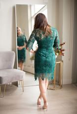 Minuet Adeline Dress in Green