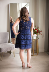Adelyn Rae Kylene Fit and Flare Dress