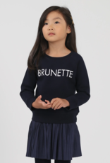 Brunette the Label Brunette Kids Crew Sweatshirt