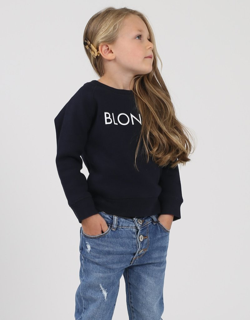 Brunette the Label Blonde Kids Crew Sweatshirt
