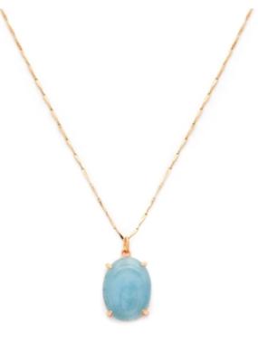 Melanie Auld Melanie Auld - Amulet Necklace in Aquamarine