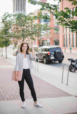 Cupcakes & Cashmere Canyon Striped Jacket