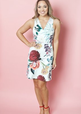 Shilla Emily Floral Fit & Flare Dress