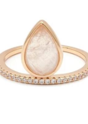 Melanie Auld Melanie Auld - Teardrop Ring - Gold