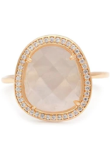 Melanie Auld Melanie Auld Slice Ring - Moonstone