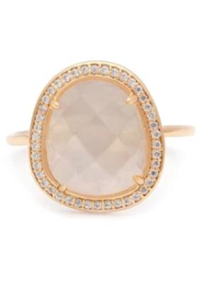 Melanie Auld Melanie Auld - Stone Slice Ring - Moonstone
