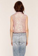 Heartloom Selena Top in Champagne Sequins