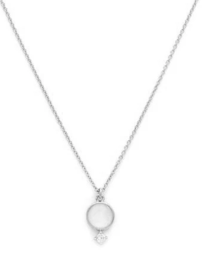 Melanie Auld Thea Necklace - Silver