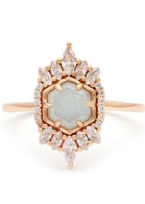 Melanie Auld Melanie Auld - Medina Ring - Aquamarine