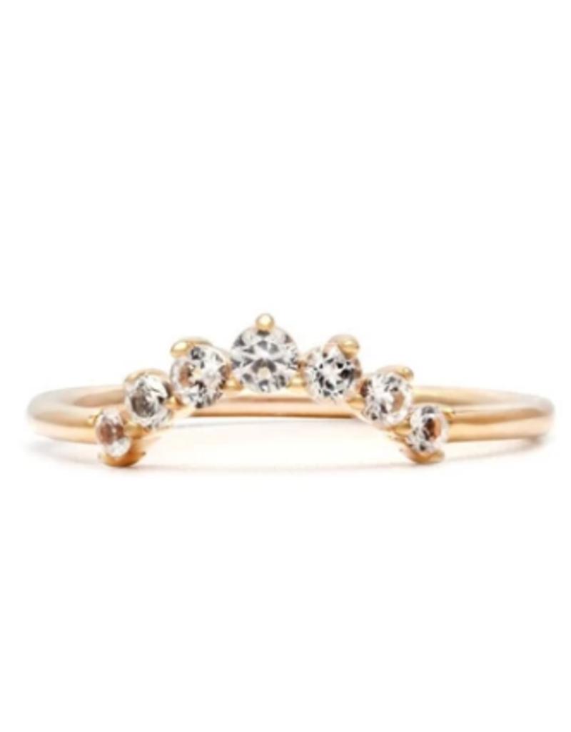 Melanie Auld Arc Ring - Gold