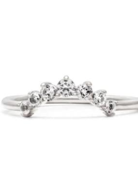 Melanie Auld Melanie Auld - Arc Ring - Silver