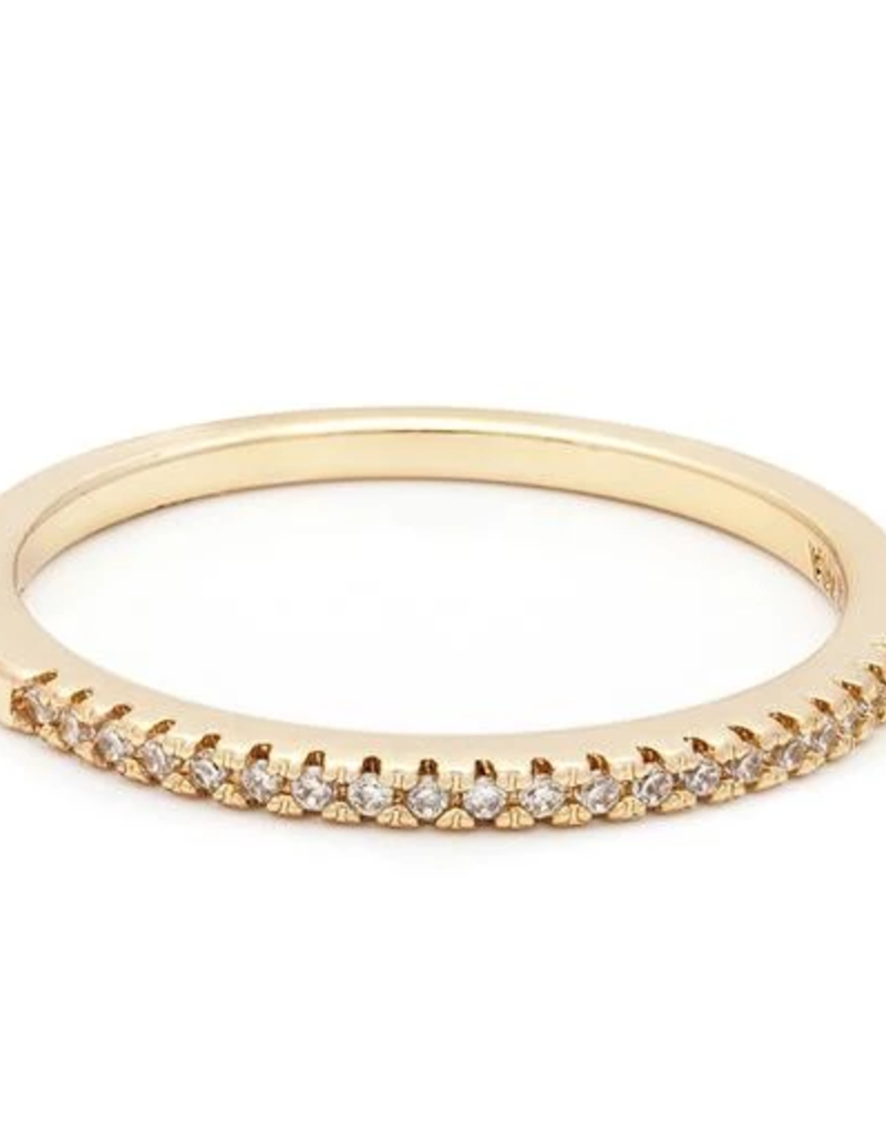 Melanie Auld Pave Dainty Band Ring